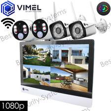 Wireless Surveillance Home NVR Display System IP Cameras Thermal Sensor
