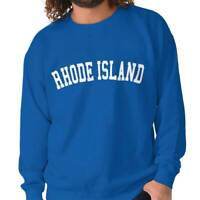 Rhode Island State Shirt Athletic Wear USA T Novelty Gift Ideas Sweatshirt