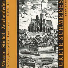 Bauer Brade, Messer Stichel Zeichenfeder, Grete Schmedes a Breslau, Katalog 2000