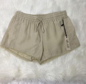 Bella Dahl Beige Baggy Shorts Size Small NWT