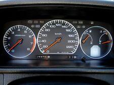 Honda Prelude 1989-1991 Aluminium Polished Chrome Dial Rings  Set Of 3 New
