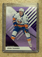 16-17 UD SPGU SP Game Used Purple Parallel #36 JOHN TAVARES