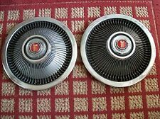 """1974-1976 Ford Torino     Pair of Two 15"""" OEM Hubcaps"""