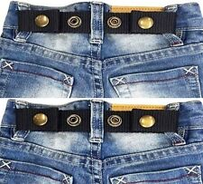 SNAP BELT for Baby&Toddler Boy & Girl Pants ADJUSTABLE-SISTER SELECTED x 2 set 2