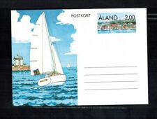 A-1395**Sailing Barque 1991 postal stationery card Aland Finland**UNUSED