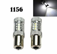 Rear Signal Light 1156 BA15S 7506 3497 1141 P21W 80W White LED Bulb M1 Japan M