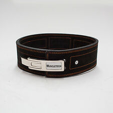 10mm Genuine Leather Lever Belt Weight Lifting Bodybuilding Power Lifting Belt