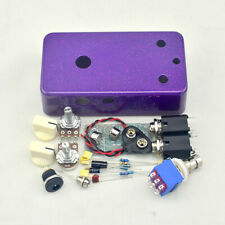 Vintage Fuzz DIY Guitar Pedal kit With Germanium AC128 And Pre-drilled1590B Box