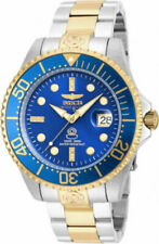 Invicta 20144 Pro Diver Men's Watch - Silver/Gold/Blue
