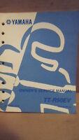 OEM 2006 Yamaha TT-R50EV Owner's Service Manual LIT-11626-19-16