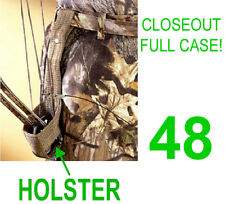 CLOSEOUT! 48 NEW EASTMAN BOW HUNTING CAMO BELT HOLSTER,TARGET ARCHERY ARROW
