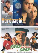 BARDAASHT & CHOR MACHAAYE SHOR - GVI BOLLYWOOD 2 DVD SET- BOBBY DEOL.