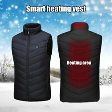 Washable Usb Charging Heating Warm Vest with Controllable Temperature