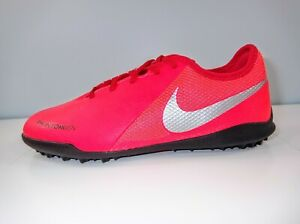Nike Jr Phantom VSN Academy Indoor Soccer Shoes Crimson  AR4343-600 Size 5Y