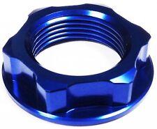 Azul Aluminio tuerca del yugo Suzuki SV650 99-02 SFV650 Gladius 2009 > GSR750 2011 >