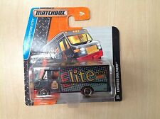 Matchbox Toy Model Van 21/125 Express Delivery Truck Black / Elite Tampo Sealed