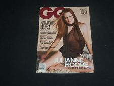 2001 JULY GQ MAGAZINE - JULIANNE MOORE COVER - SP 3468