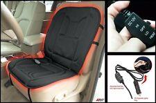 Calefacción Eléctrica De Cálido 12 V Cubierta de asiento de coche Almohadilla Auto Coche Asientos Con Calefacción Cojín Negro