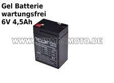 Gel Batterie 6V 4,5Ah für Simson S51 S50 KR51 MZ TS ETZ NEU PREIS INKL PFAND