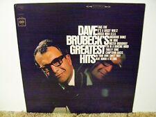 DAVE BRUBECK , GREATEST HITS , RARE 1966 NEAR MINT CLASSIC COOL JAZZ