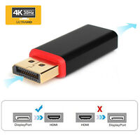 30Hz 2160P/1080P DisplayPort DP to HDMI Male to Female Adapter for TV PC Laptop