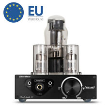 HiFi Stereo Valve Tube Headphone Amplifier Class A SRPP Audio Preamp Desktop Amp