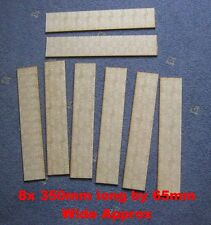2800mm of stone cobble slab Raod scenery for wargames 15mm 20mm 28mm MDF