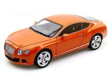 Minichamps 2011 Bentley Continental Gt- Orange 1:18*Nice New Stock!