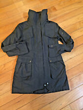 Cole Haan Womens zip up Rain Jacket  Trench coat small