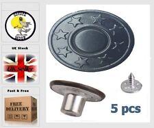 Rivetti RIVETTO Borchie Bottoni Jeans Denim in pelle da cucire sostituzione 17 mm pistola UK