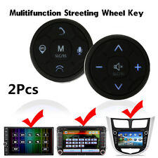 Multifunction Car Steering Wheel Key GPS DVD Control Wireless Remote Button Kit