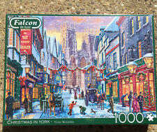 Falcon Deluxe Christmas in York Jigsaw Puzzle (1000 Pieces) New Sealed