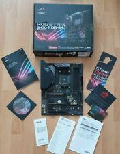 ASUS ROG Strix B450-F Gaming Sockel AM4, funktioniert einwandfrei, RGB Fehler