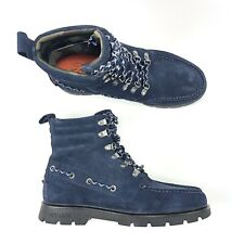Sperry Top Sider Mens A/O Suede Leather Lug Boot Jack Spade Navy Black Moc $198