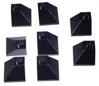 LEGO - 8 x Dachaussenecke 45 Grad 2x2 schwarz / Dachecke / 3045 NEUWARE