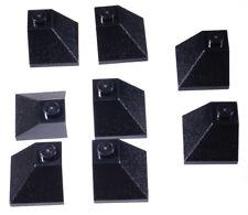 LEGO - 8 Dachaussenecken 45 Grad 2x2 schwarz / Dachecken / 3045 NEUWARE