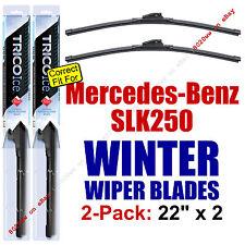 WINTER Wiper Blades 2pk Premium - fit 2012-2015 Mercedes-Benz SLK250 - 35220x2