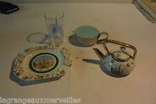 Souvenirs de Lourdes verre en plastique cruche ...