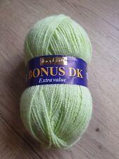 Hayfield Bonus DK - 0882 - Lime - 1 x 100g Ball