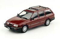 Ford Sierra Ghia Rural Wagon 1998 Rare Argentina Diecast Car Scale 1:43+Magazine