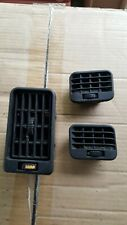 3x Early VOLVO 340 (343/345) Dashboard Air Vents