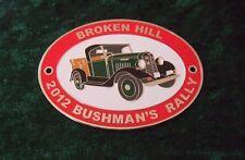 GRILLE / CAR BADGE - BROKEN HILL 2012 BUSHMAN'S RALLY - INTERNATIONAL TRUCK