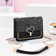 Chain Pu Leather Crossbody Bags For Women Ladies Small Shoulder Messenger Bag