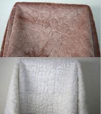 "Stone pattern SHAGGY FAUX FUR FABRIC fur collar fur coat hat carpet  60""  BTY"