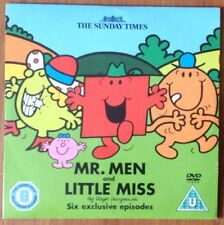 DVD - MR. MEN AND LITTLE MISS Six exclusive episodes - NEWSPAPER PROMOTION
