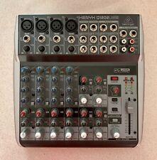 Behringer XENYX Q1202USB Premium 12 Input 2 Bus Mixer with USB/Audio Interface