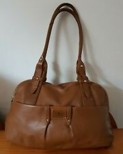 Well Loved Designer Radley Genuine Tan Leather Large Shoulder Bag RRP £190