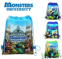 Kids Boys Cartoon Drawstring Bag Gym Gift Swimming Swim Backpack Gift