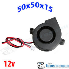 Ventilador Turbina 5015 12v Fan 50x50x15 impresora 3D cooler 50mm 15mm blower