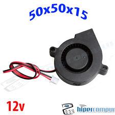 Ventilatore Turbina 5015 12v Fan 50x50x15 stampante 3D cooler 50mm 15mm blower